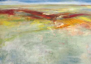 Canvas doek Weites Land I