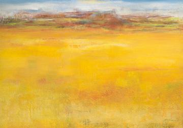 Canvas doek Weites Land II