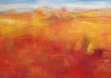 Canvas doek Weites Land III