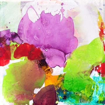 Canvas doek Violet Grace