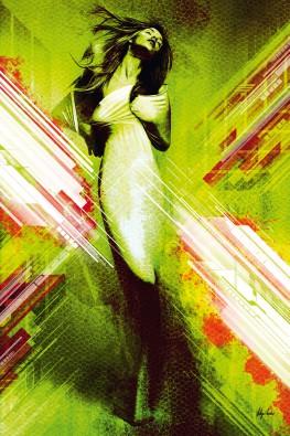 Canvas doek untitled seven 03