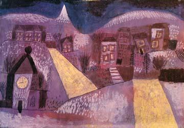 Canvas doek Winterlandschaft