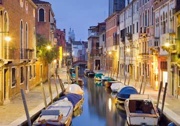 Canvas doek Venedig II