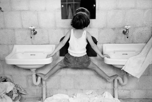 Canvas doek Tirza on Sinks