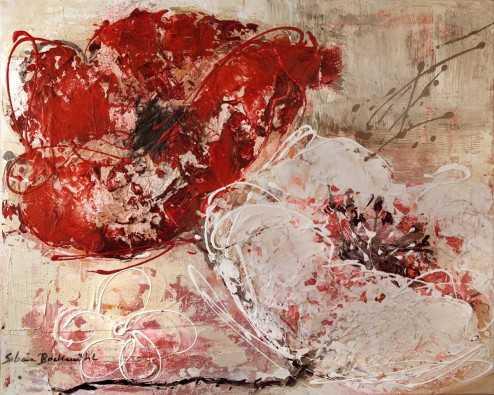 Canvas doek Zweisamkeit