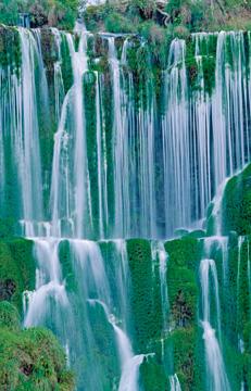 Canvas doek Waterfall I