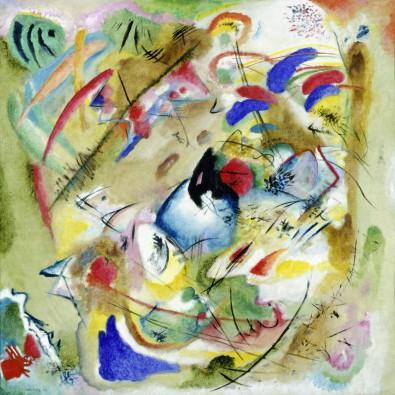 Canvas doek Träumerische Improvisation