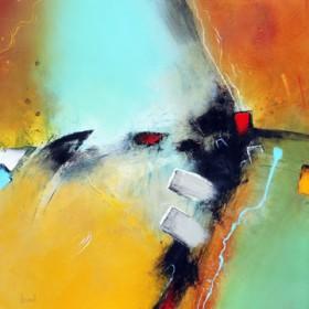 Canvas schilderij Inside Power