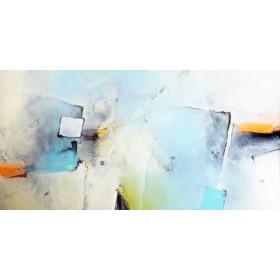 Canvas schilderij Wenn das Eis bricht