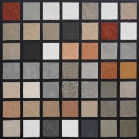 Canvas schilderij United Colours of Sand 1