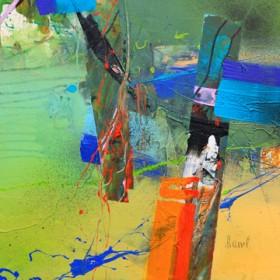 Canvas schilderij Concerto 2