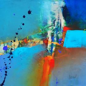 Canvas schilderij Concerto 3
