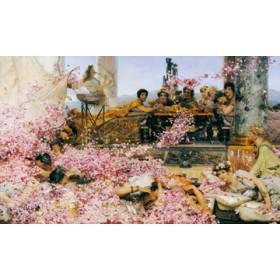 Canvas schilderij Die Rosen des Elagabalus