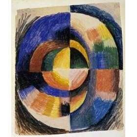 Canvas schilderij Farbenkreis II