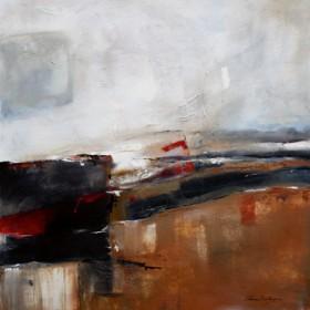 Canvas schilderij Blues V