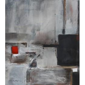 Canvas schilderij Blues VIII