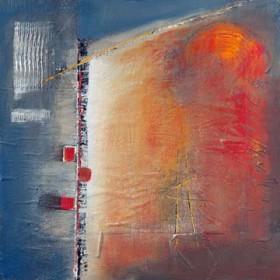 Canvas schilderij Silent Glow