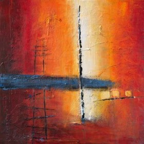 Canvas schilderij Sunbeam on Water