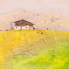 Canvas schilderij Landhaus 1