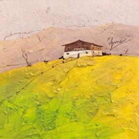 Canvas schilderij Landhaus 2