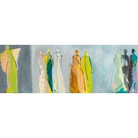 Canvas schilderij Begegnungen II