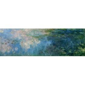 Canvas schilderij Nympheas Paneel C II