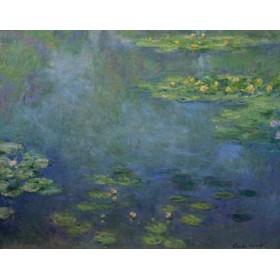 Canvas schilderij Seerosenteich