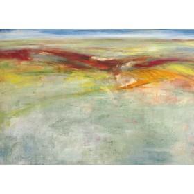 Canvas schilderij Weites Land I