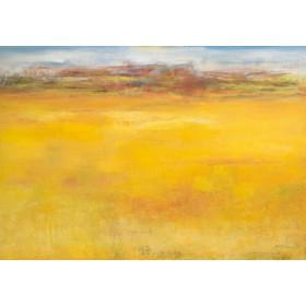 Canvas schilderij Weites Land II