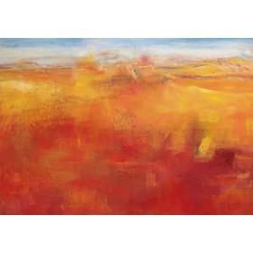 Canvas schilderij Weites Land III