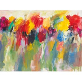 Canvas schilderij Farbklänge V