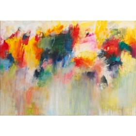 Canvas schilderij Farbklänge IV