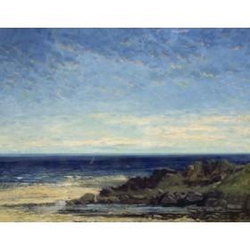 Canvas schilderij Blue morning
