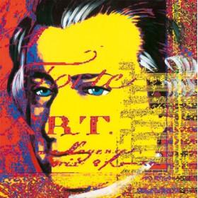 Canvas schilderij Mozart 2