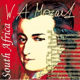 Canvas schilderij Mozart 8