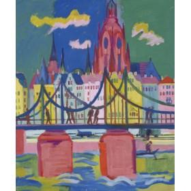 Canvas schilderij Frankfurter Dom