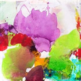 Canvas schilderij Violet Grace