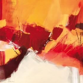 Canvas schilderij Rosso II