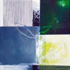 Canvas schilderij Composizione verde II