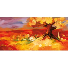 Canvas schilderij Bergkirchen