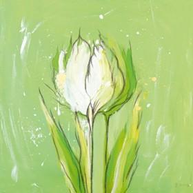 Canvas schilderij Tulpa 3