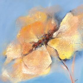 Canvas schilderij Bright Anemone I