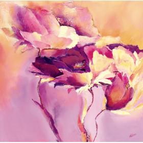 Canvas schilderij Candy Mohn II