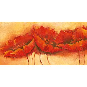 Canvas schilderij Wilder Mohn