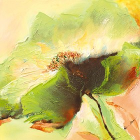Canvas schilderij Mint Spring I