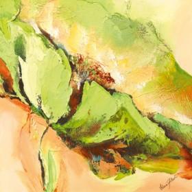 Canvas schilderij Mint Spring II