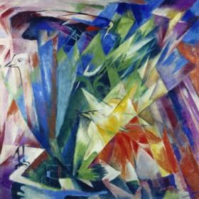 Canvas schilderij Vögel