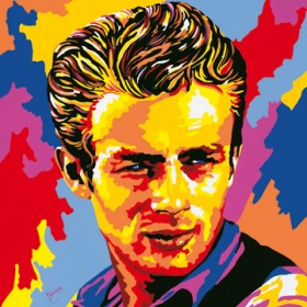 Canvas schilderij James Dean