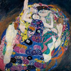 Canvas schilderij Die Jungfrau