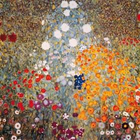 Canvas schilderij Bauerngarten